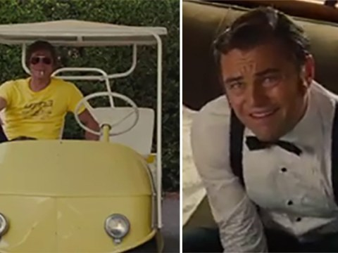 Leonardo DiCaprio and Brad Pritt are 60s dream as new clip for Once Upon A Time In Hollywood lands