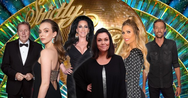 Comp of people who could appear on Strictly Come Dancing this year