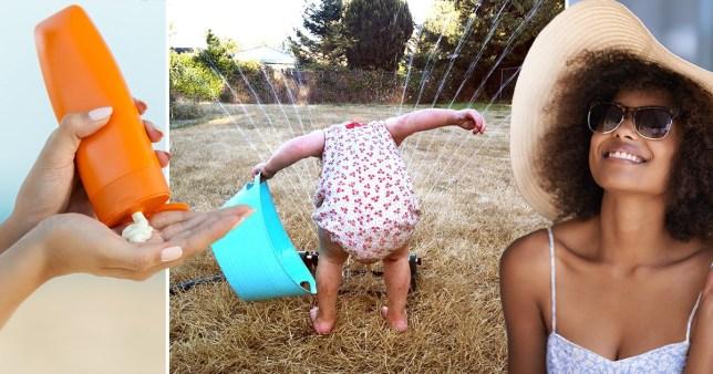 How to avoid getting sun stroke in the UK heatwave