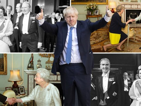 Boris Johnson will be the 14th prime minister to meet the Queen
