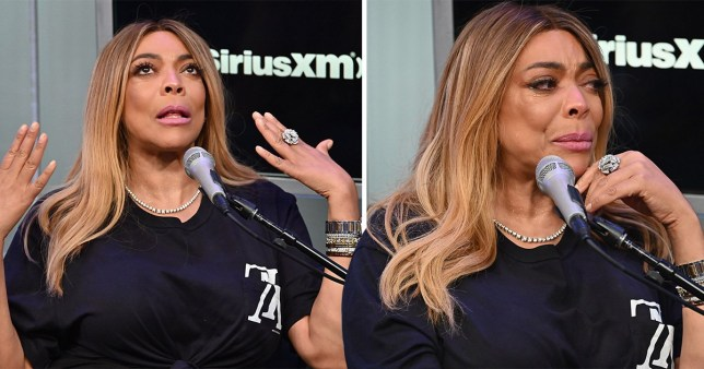Wendy Williams cries over divorce