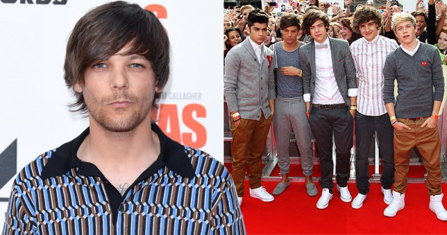 Caption: Louis Tomlinson says One Direction jealousy and feyud is bullshit Provider: PA/Getty