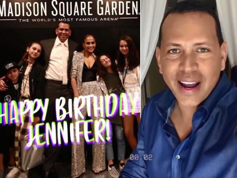 Alex Rodriguez celebrates fiancé Jennifer Lopez's birthday with adorable montage