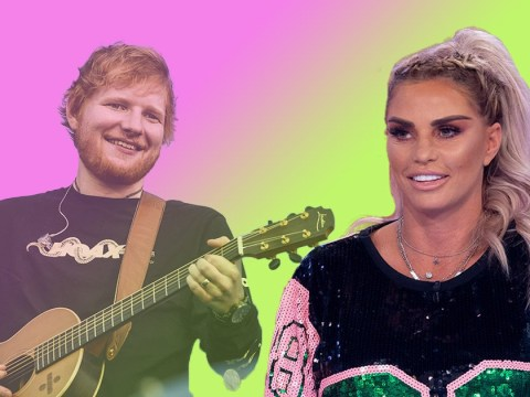 Katie Price claims she's written song with Ed Sheeran for her new album, because of course
