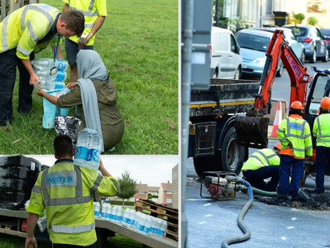 Thousands left without water on hottest July day ever after water main bursts