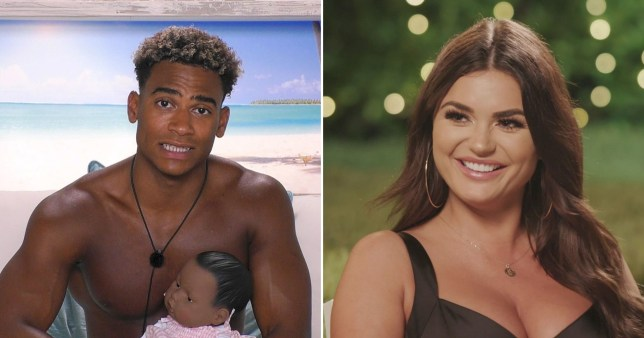 Love Island's Jordan Hames and India Reynolds