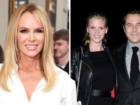 Amanda Holden claims BGT judge David Walliams banned any talk of his ex-wife Lara Stone
