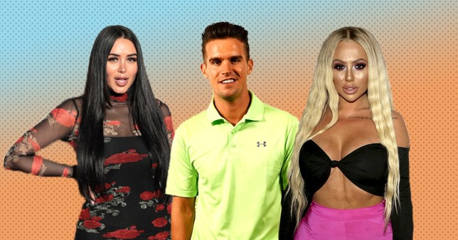 Marnie Simpson, Gary Beadle and Holly Hagan