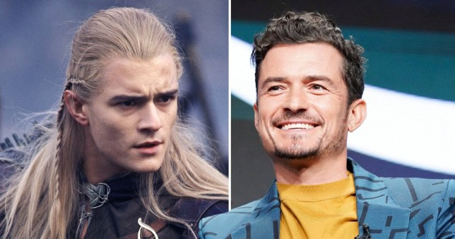 Orlando Bloom Legolas Lord of the Rings