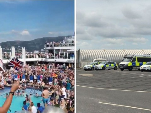 Clown was not behind 'mass brawl' at cruise ship buffet