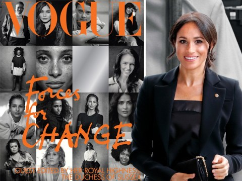 Meghan Markle guest edits September Vogue with all-female cover