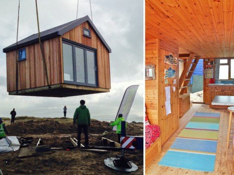 Beach huts on sale for £1,250,000 and they don't have running water