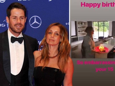 Jamie and Louise Redknapp reunite to celebrate son Charley's 15th birthday