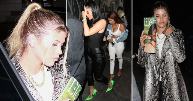 Kylie Jenner and Sofia Richie