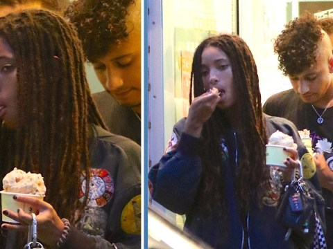 Willow Smith enjoys ice cream date with boyfriend Tyler Cole as she proves she still loves the simple things