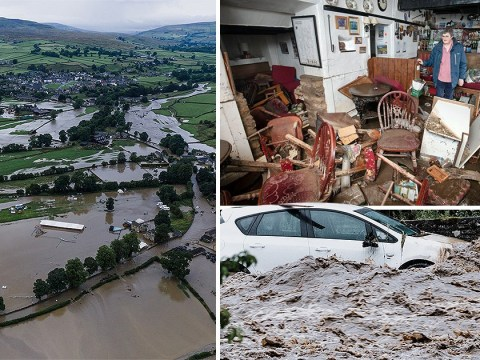 Inside homes ruined by 'horrific' flooding in North Yorkshire