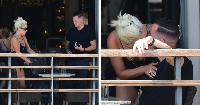 """Résultat de recherche d'images pour """"dan horton lady gaga kissing"""""""