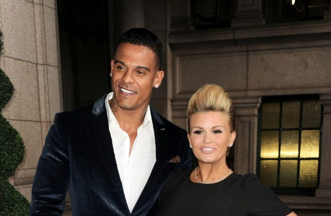 Kerry Katona and her ex-husband George Kay