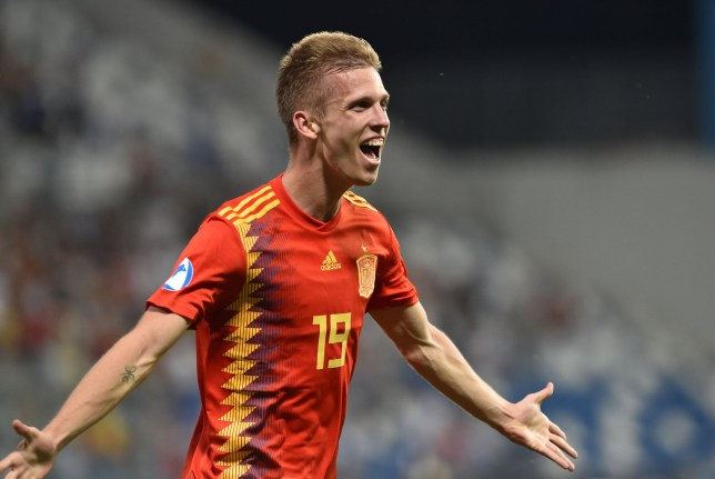 Dani Olmo is wanted by Manchester United and Tottenham