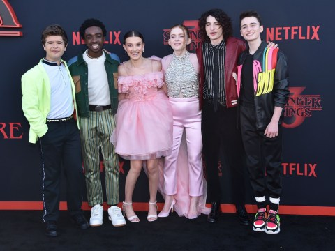 How old were the Stranger Things cast when the show started and how old are they now?