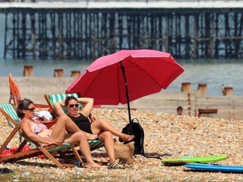 Storms to batter UK this weekend before 34C heatwave next week