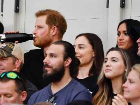 Did Prince Harry 'ignore' Meghan Markle at London baseball game?
