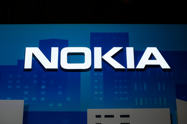 Nokia logo, at Nokia, during theMobile World Congress day 3, on February 28, 2018 in Barcelona, Spain. (Photo by Joan Cros/NurPhoto via Getty Images)