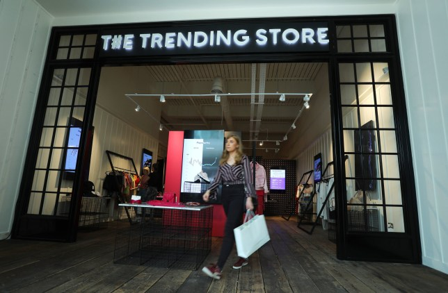 Trending Store is AI-powered and sells things popular on social media