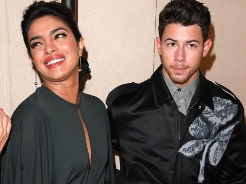 Priyanka Chopra and Nick Jonas look very happy after Sophie Turner and Joe Jonas wedding
