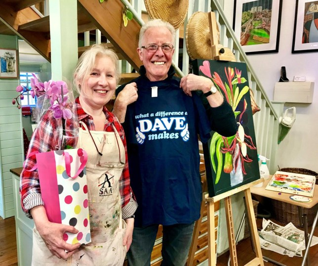 Val and her husband Dave