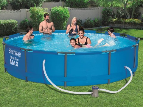 Lidl is selling a 12-foot swimming pool for £89.99 but it'll take you over six hours to fill