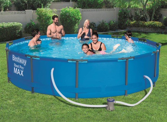 Lidl is selling a 12-foot swimming pool but takes over six hours to ...