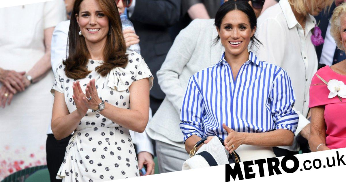 Kate Middleton and Meghan Markle will attend Wimbledon ladies final together