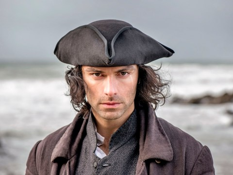Aidan Turner and Eleanor Tomlinson stay in bed together as Poldark filming finishes