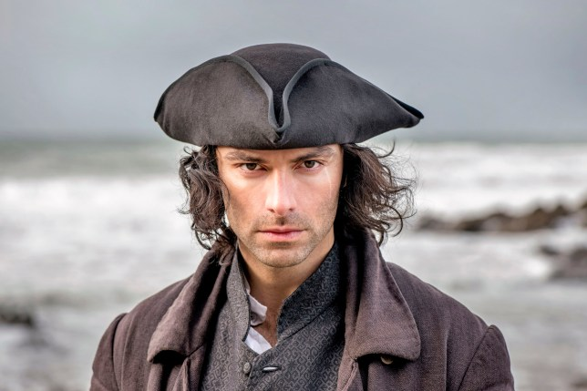 WARNING: Embargoed for publication until 00:00:01 on 01/07/2019 - Programme Name: Poldark - Series 5 - TX: 14/07/2019 - Episode: n/a (No. n/a) - Picture Shows: *** THIS IMAGE IS UNDER STRICT EMBARGO UNTIL 01/07/2019 00.01 *** Ross Poldark (AIDAN TURNER) - (C) Mammoth Screen - Photographer: Craig Hardie