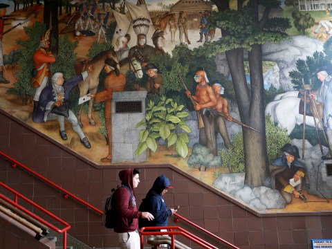 School will spend $600,000 removing historic mural from its walls over claims it is racist