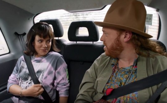 Picture: ITV2 Lily Allen on Shopping With Keith Lemon