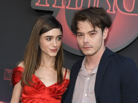 How long have Stranger Things' Charlie Heaton and Natalia Dyer been together?