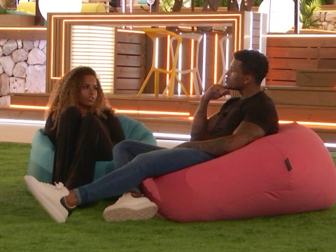 Love Island spoiler: Michael Griffiths flirts with Amber Gill to fury of Joanna Chimonides: 'You have heart of gold'