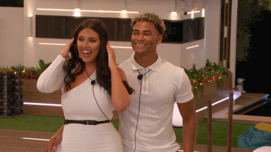 From ITV Studios Love Island: SR5: Ep31 on ITV2 Pictured: Anna has a birthday party. This photograph is (C) ITV Plc and can only be reproduced for editorial purposes directly in connection with the programme or event mentioned above, or ITV plc. Once made available by ITV plc Picture Desk, this photograph can be reproduced once only up until the transmission [TX] date and no reproduction fee will be charged. Any subsequent usage may incur a fee. This photograph must not be manipulated [excluding basic cropping] in a manner which alters the visual appearance of the person photographed deemed detrimental or inappropriate by ITV plc Picture Desk. This photograph must not be syndicated to any other company, publication or website, or permanently archived, without the express written permission of ITV Picture Desk. Full Terms and conditions are available on the website www.itv.com/presscentre/itvpictures/terms For further information please contact: james.hilder@itv.com / 0207 157 3052