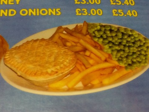 These peas look like they're upside down and it's confusing everyone