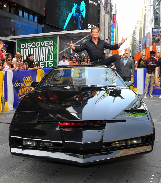 David Hasselhoff is way too excited to reunite with Knight