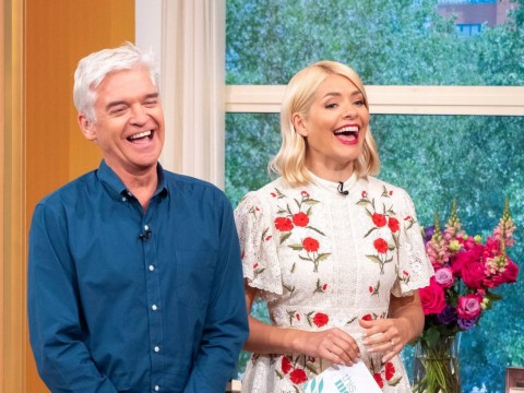 What other shows have Holly and Phil presented together as they celebrate This Morning 10th anniversary?