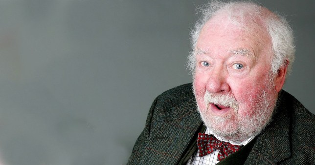 Editorial use only Mandatory Credit: Photo by ITV/REX (683200hq) 'Emmerdale' - Sandy Thomas (Freddie Jones). ITV ARCHIVE