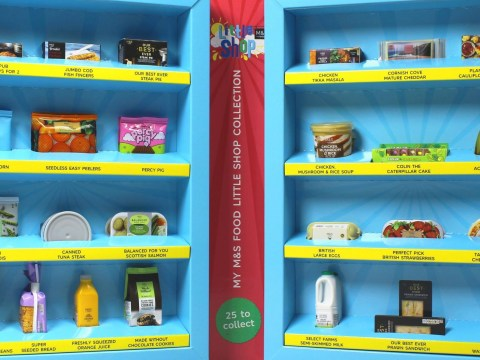 You can pick up mini food toys for kids for free from M&S this summer