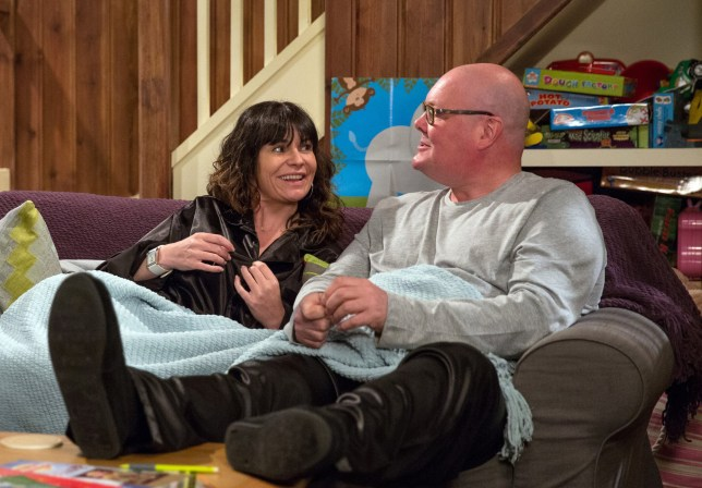 Chas Dingle and Dominic Brunt