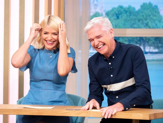 Holly Willoughby and Phillip Schofield on ITV's This Morning
