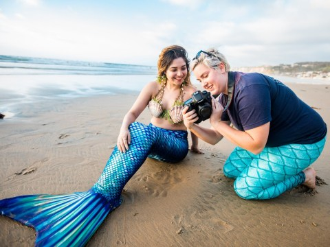 Airbnb's mermaid experience will get you a tail, a shell bra and a photoshoot