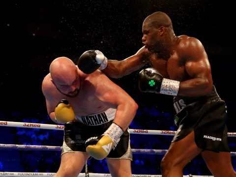 Daniel Dubois beats Nathan Gorman with crushing fifth-round KO