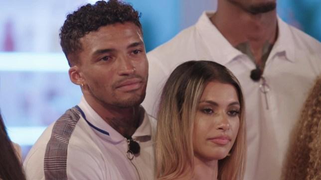Michael and Joanna on Love Island 2019